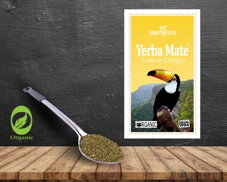 Yerba Mate Lemon Ginger