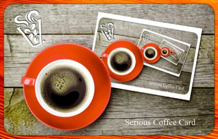 'Coffee in a Coffee' Card