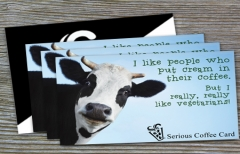 'Funny Cow' Card