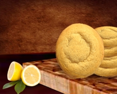 Sugar Free Lemon Cookie