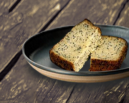 G/F Lemon Poppy Seed Loaf
