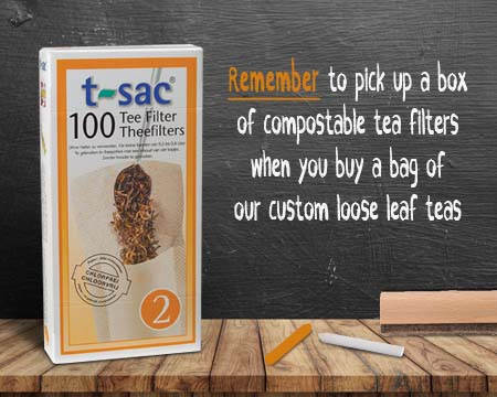 Compostable Tea Filters
