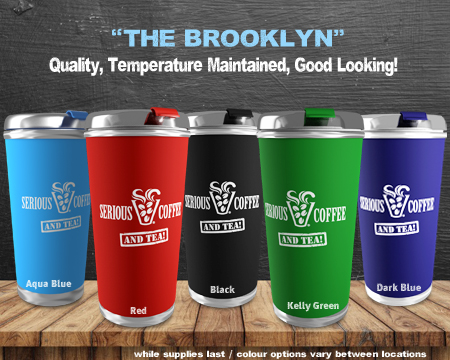 """The Brooklyn"" Tumbler"