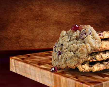 Oatmeal Cranberry Walnut Cookie