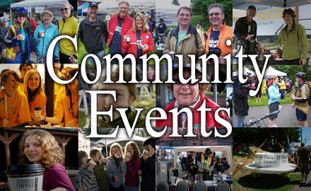 Community Events - Vancouver Island and Powell River, BC