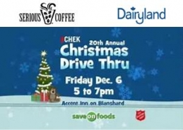 CHEK 20th Annual Christmas Drive Thru
